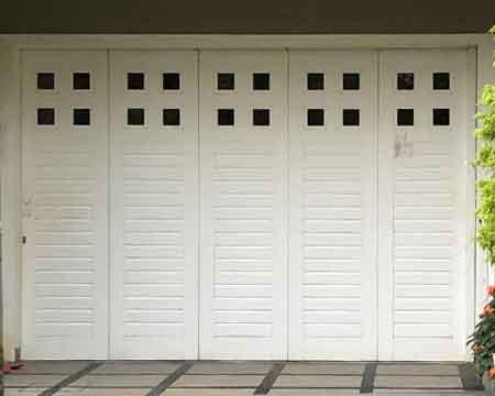 Pintu Garasi - Type : Tali Air Kaca