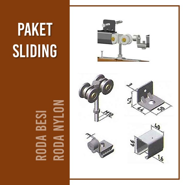 Komponen - PAKET SLIDING
