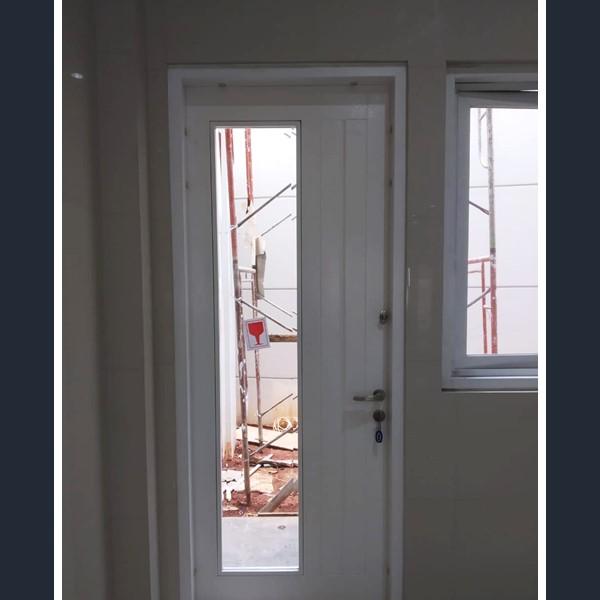 Pintu Rumah - Pintu Tunggal Kaca