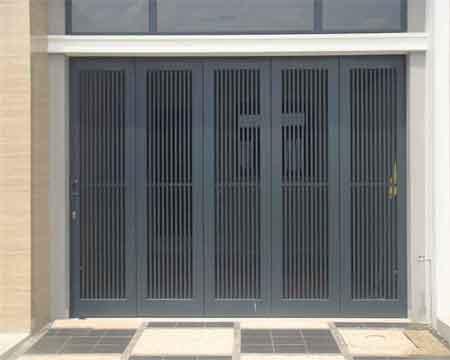 Pintu Garasi - Type : Kontemporer