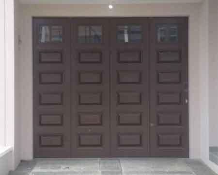 Pintu Garasi - Type : Panel Kecil Kaca