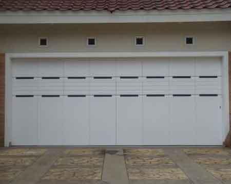 Pintu Garasi - Type : Minimalis