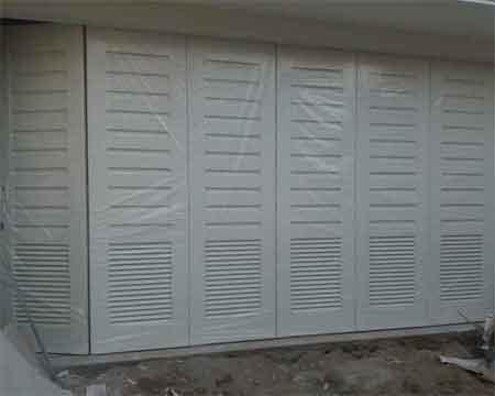 Pintu Garasi - Type : Plat Tekuk