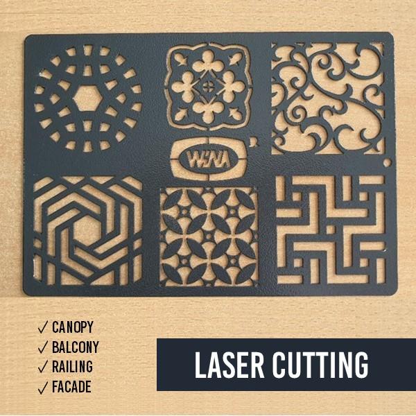Pintu Besi - Laser Cutting