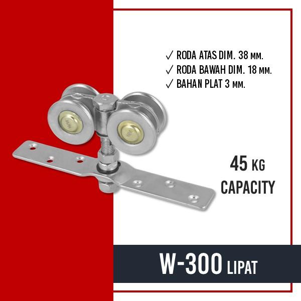 KOMPONEN PINTU LIPAT - W-300 LIPAT