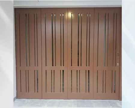 Pintu Garasi - Type : Vertical frame