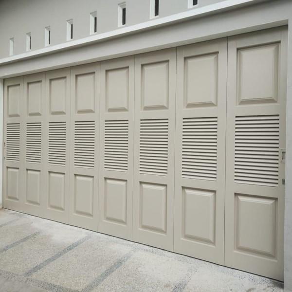 Pintu Garasi - Panel - Jalusi