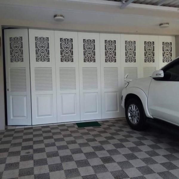 Pintu Garasi - Laser Cutting