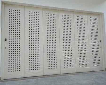 Pintu Garasi - Type : NC punch Kotak