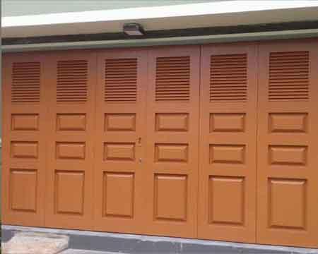 Pintu Garasi - Type : W380 D2 KH