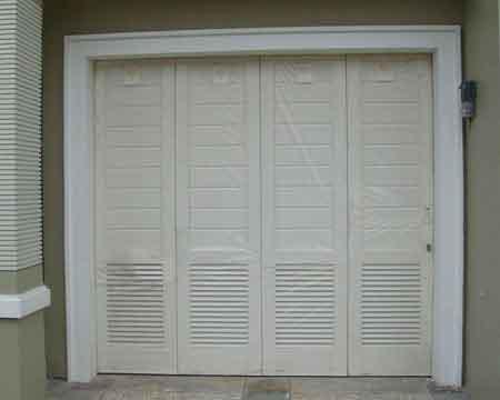 Pintu Garasi - Type : Tali Air